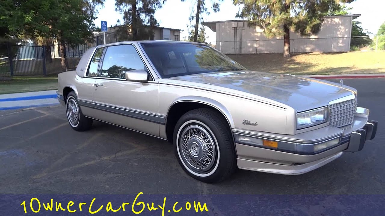 Cadillac Eldorado Biarritz Coupe 2 Door Start Up & Test Drive 4 5L V8 Cadi  Eldo Video Review