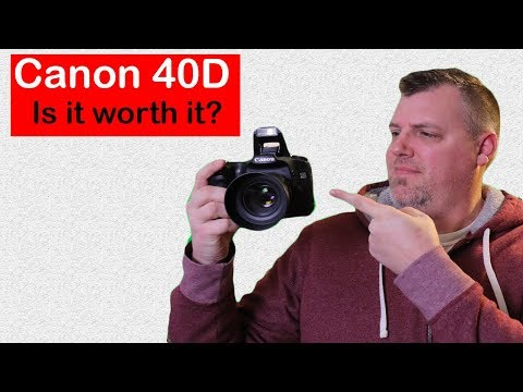 Canon EOS 40D Review AND Is It Even Worth Picking Up?
