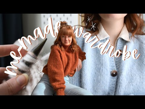 What's in My Me Made Wardrobe | My Favorite Knitting Projects So Far