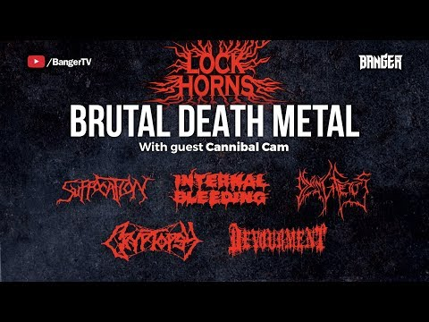Lock Horns |Brutal Death Metal Band Debate (live stream archive)
