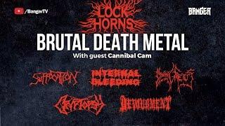 Brutal Death Metal Band Debate   Lock Horns (live stream archive)