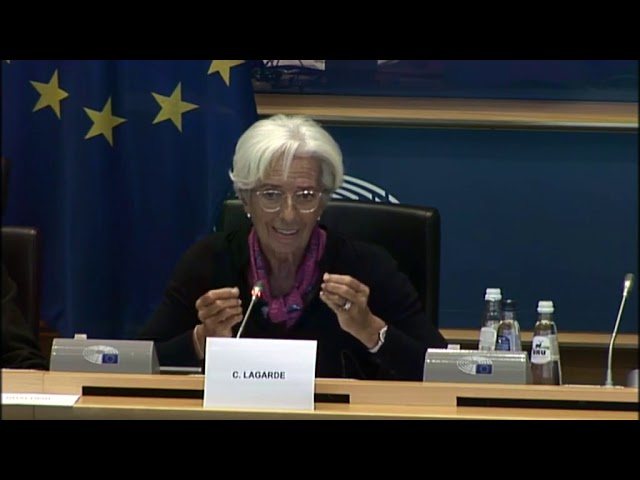 Pregunta a Christine Lagarde, candidata a la presidencia del Banco Central Europeo