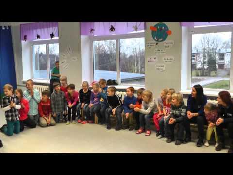 Estonia traditional games in the Tsirguliina Secondary School
