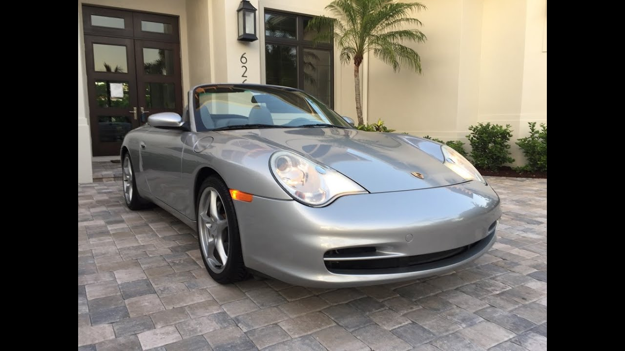 Sold 2002 Porsche 911 Carrera 4 Cabrio For By Auto Europa Naples