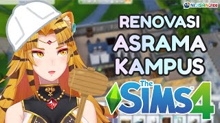 【The Sims 4】Renovasi Asrama sebelum mulai kuliah【NIJISANJI ID】