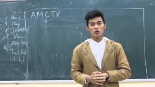 Training AMC | Kỹ năng dẫn truyền hình| Hoàng Hùng