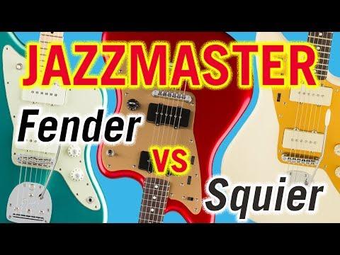 Fender vs Squier Jazzmaster: American Pro, Deluxe ST, J Mascis Tone Comparison