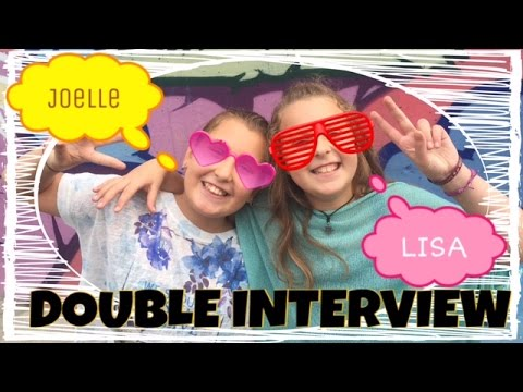 DOUBLE INTERVIEW: Lisa & Joelle
