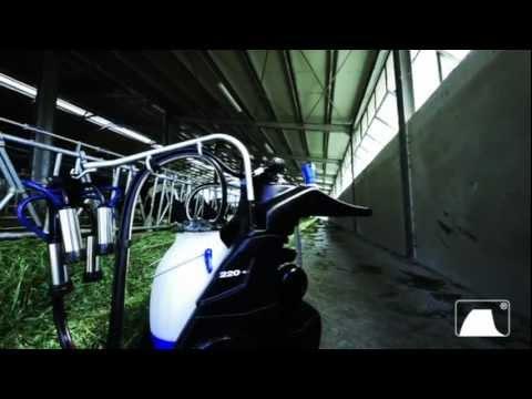 ITALIA Portable milking machine