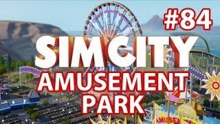 SimCity Amusement Park DLC - Walkthrough Part 84 - City Destroying Itself