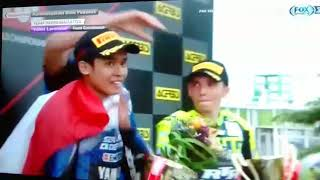 Video Galang Hendra Podium Ceremony after Winning WSSP300 in Brno Czech 2018 download MP3, 3GP, MP4, WEBM, AVI, FLV Juni 2018