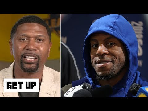 jalen-reacts-to-iguodala-saying-the-warriors-downplayed-his-2018-injury---what-about-kd?-|-get-up