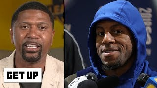 Jalen reacts to Iguodala saying the Warriors downplayed his 2018 injury - What about KD? | Get Up