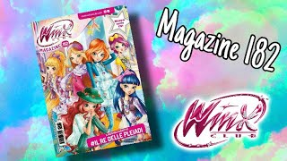 Winx Club - Magazine 182 (New artworks!)