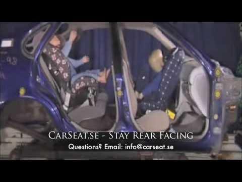 Rear Facing Vs. Forward Facing Crash Test