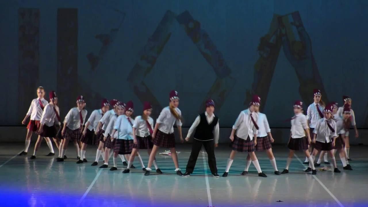 """Видео детских танцев """"Отчетный концерт в КЗ отеля СПб 04.06.2016 года"""". Дети 9-13 лет """"Учат в школе""""."""