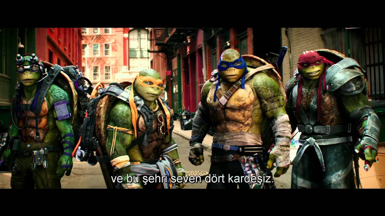 Ninja Kaplumbağalar Gölgelerin Içinden Türkçe Altyazılı Ilk