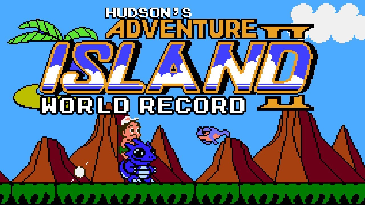 [World Record] Adventure Island 2 Warpless in 28:46 (Speedrun)