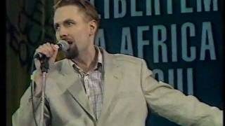 JERRY DAMMERS & MANHATTAN BROTHERS:NELSON MANDELA [LIVE 1990]
