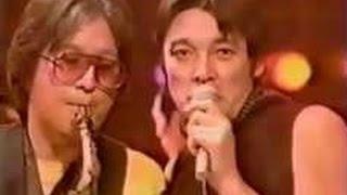 ショーケン 【オールナイトフジ・ミニライブ】(1987年2月放映) ①『愚...