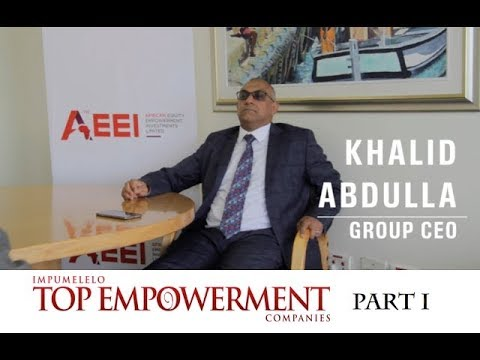 Part I | Interview with AEEI CEO Khalid Abdulla | Top Empowerment | Topco Media | 2017