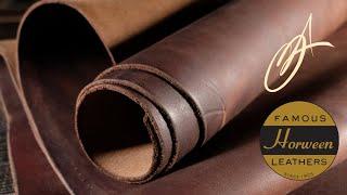 Horween Leather - Dark Brown Ruffian 7-8oz