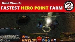 Guild Wars 2: Easiest & Quickest Hero Challenges in HoT │ 100 Hero Points in 15 Minutes!