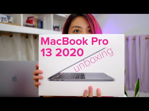 MacBook Pro 13 2020 unboxing: Apple.com delivery to Manila??