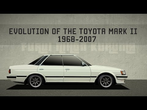 Toyota Mark II Эволюция серии  (1968-2007) || Toyota Mark II Evolution (1968-2007)