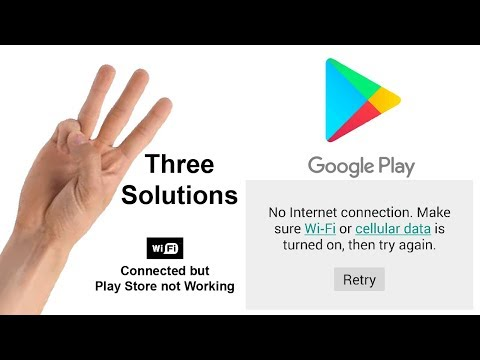 Play Store - No Internet Connection - Fix - Google Play - Problem