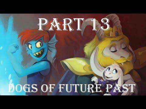 Dogs of Future Past Part 13 【 Undertale Comic Dub 】