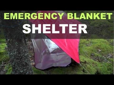 Heavy duty emergency blanket shelter options youtube heavy duty emergency blanket shelter options publicscrutiny Gallery