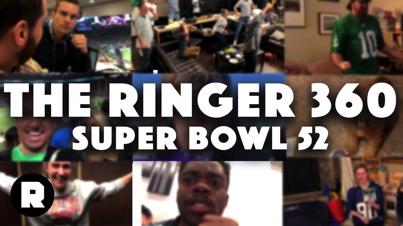 super bowl 52 ringer 360 the ringer youtube