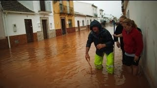 مقتل سبعة أشخاص جراء الفياضانات في جنوب اسبانيا