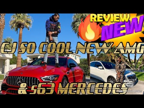 CJ SO COOL NEW RED AMG MERCEDES!!! REVIEW 🔥😎😲& NO MORE CJ ON 32'S RUCCI WHEELS CJ NEVER LIKED..🤔
