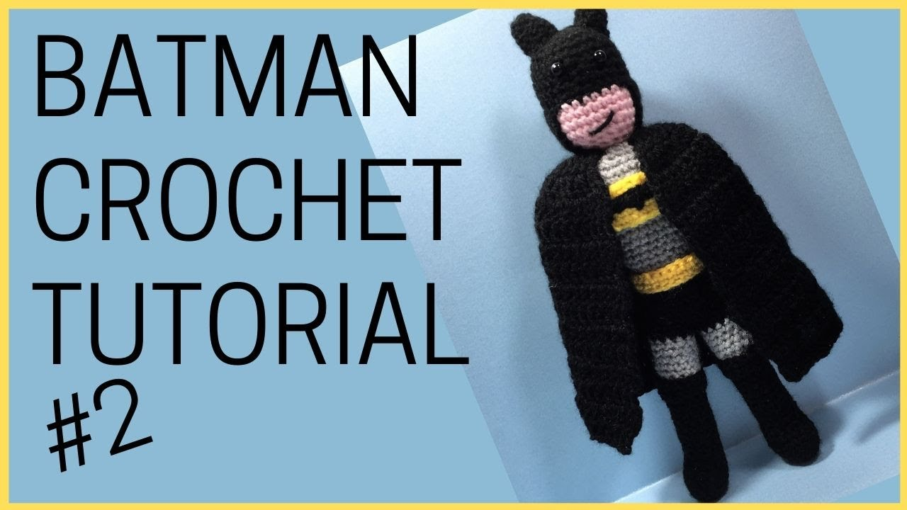 Batman Crochet Pattern Amigurumi   Etsy   Batman amigurumi, Muñeca ...   720x1280