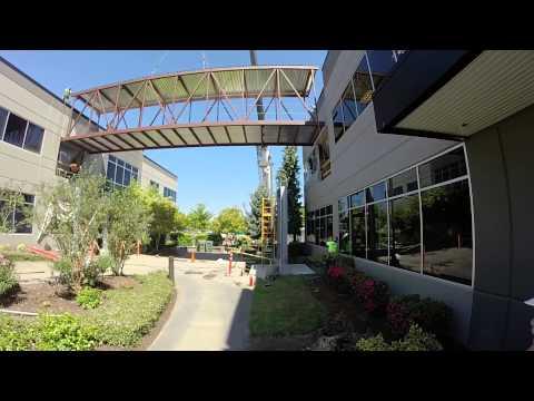 VW Credit Hillsboro Skybridge Hoist Timelapse