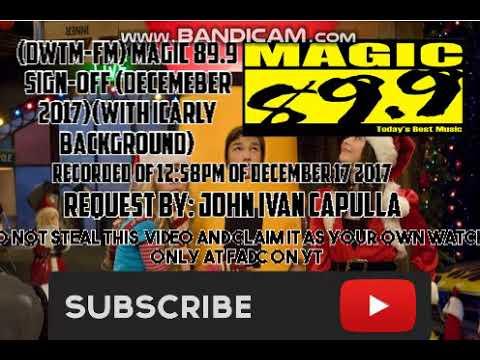 (DWTM-FM) MAGIC 89.9 SIGN-OFF (DECEMBER 2017)(With CC Subtitle (English)