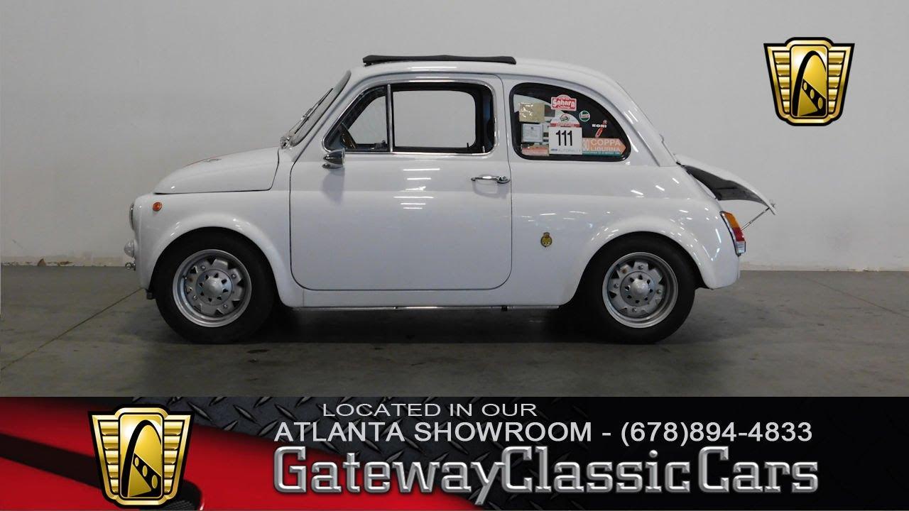 1970 Fiat Abarth 595 Gateway Classic Cars Of Atlanta 365