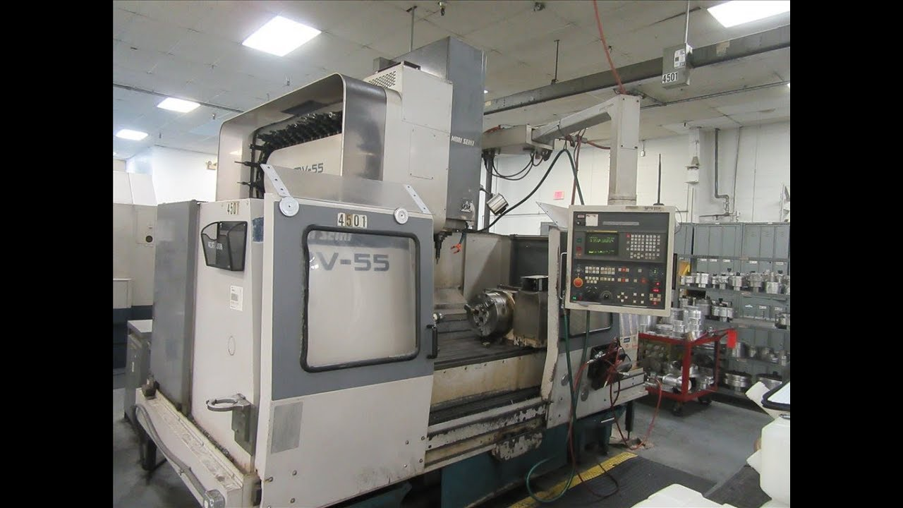 mori seiki mv 55 50 cnc vertical machining center youtube rh youtube com Mori-Seiki Alarm Codes Mori-Seiki Turret Manuals