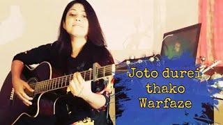 joto durei thako warfaze cover by tumpa