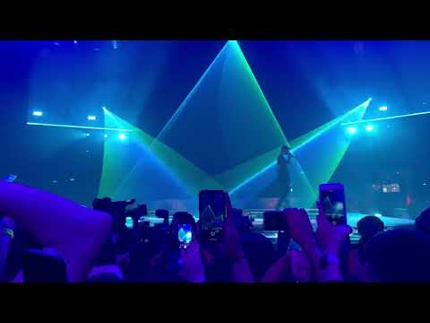 Travis Scott 90210 Freestyle In Houston @ Toyota Center 2019