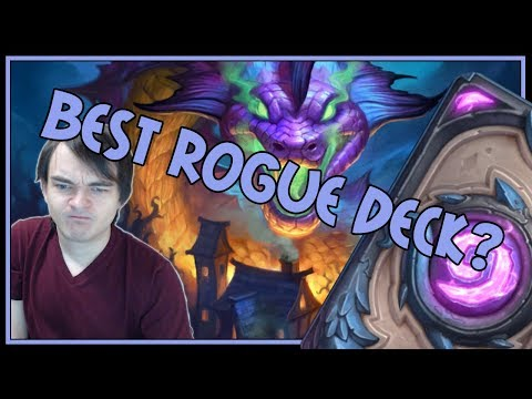 Is this the best rogue deck out there? | Odd rogue | The Witchwood | Hearthstone