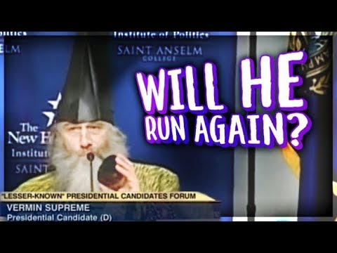 How Vermin Supreme Became The First Meme Politician