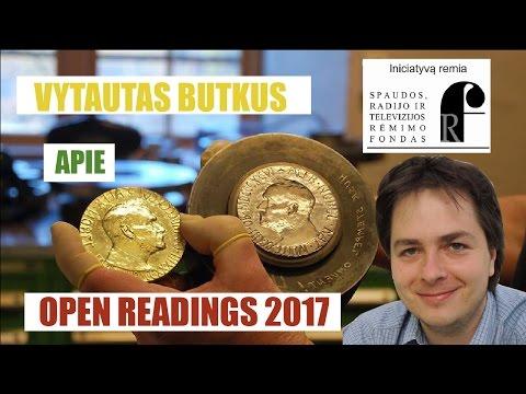 Vytautas Butkus - Open Readings 2017