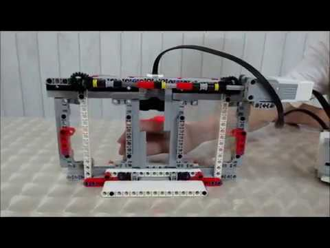 Lego Ev3 Sliding Doors Youtube