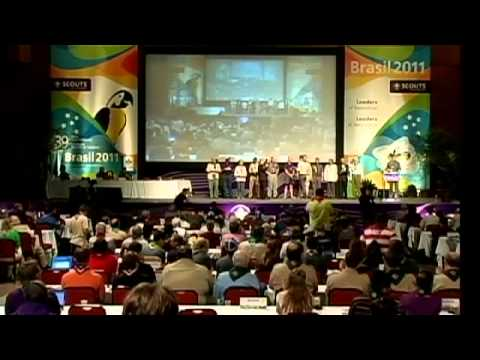 """Presentation """"Messengers of PEACE"""" - World Scout Conference"""