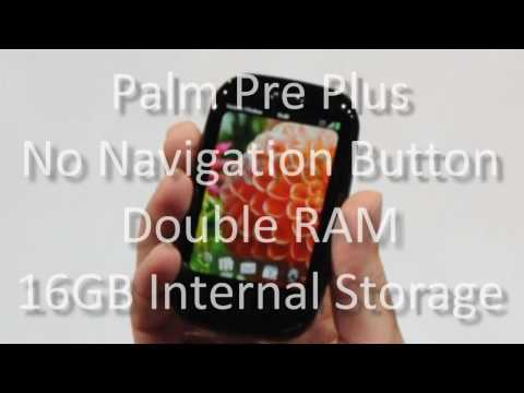 First Look: Palm Pre Plus and Palm Pixi Plus for Verizon