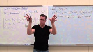 Calculus 3 Lecture 11.4: Tнe Cross Product