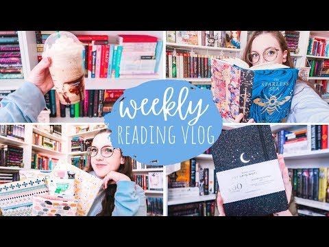 MORE BOOK HAULS + THE BLACKOUT BUDDY READ | WEEKLY READING VLOG